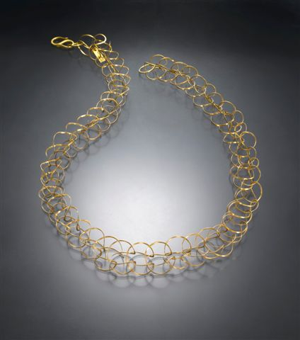 Necklace. Gold-filled